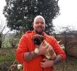 Gunnar mit seinem stolzen Besitzer S.